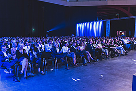 Das Auditorium bei den JC Network Days 2018