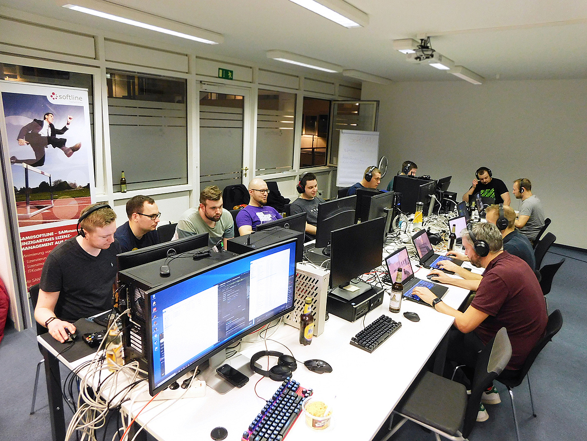 »5 Jahre SoftLAN«: LAN-Party 2019