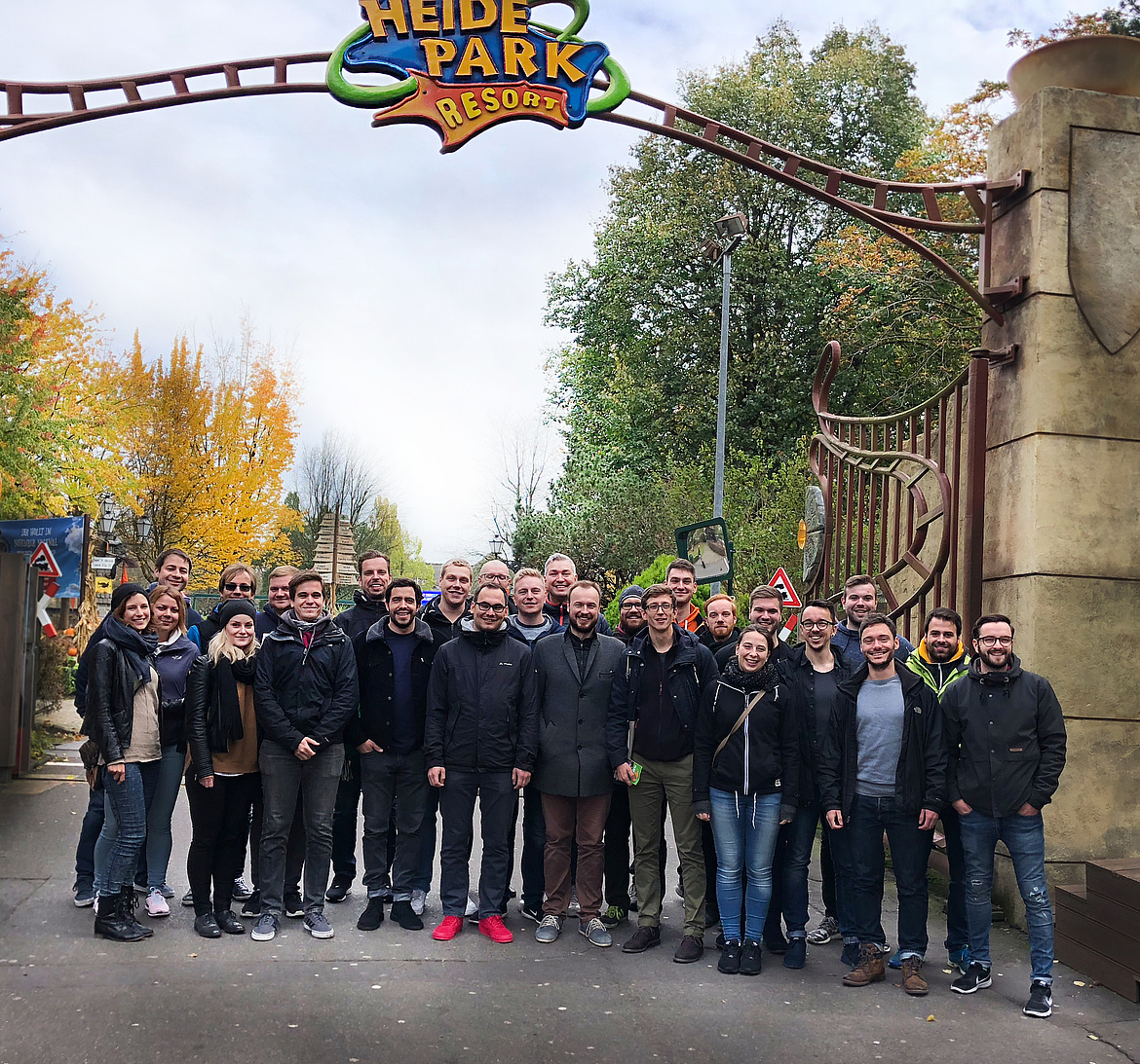 Softline SAM-Team im Heidepark